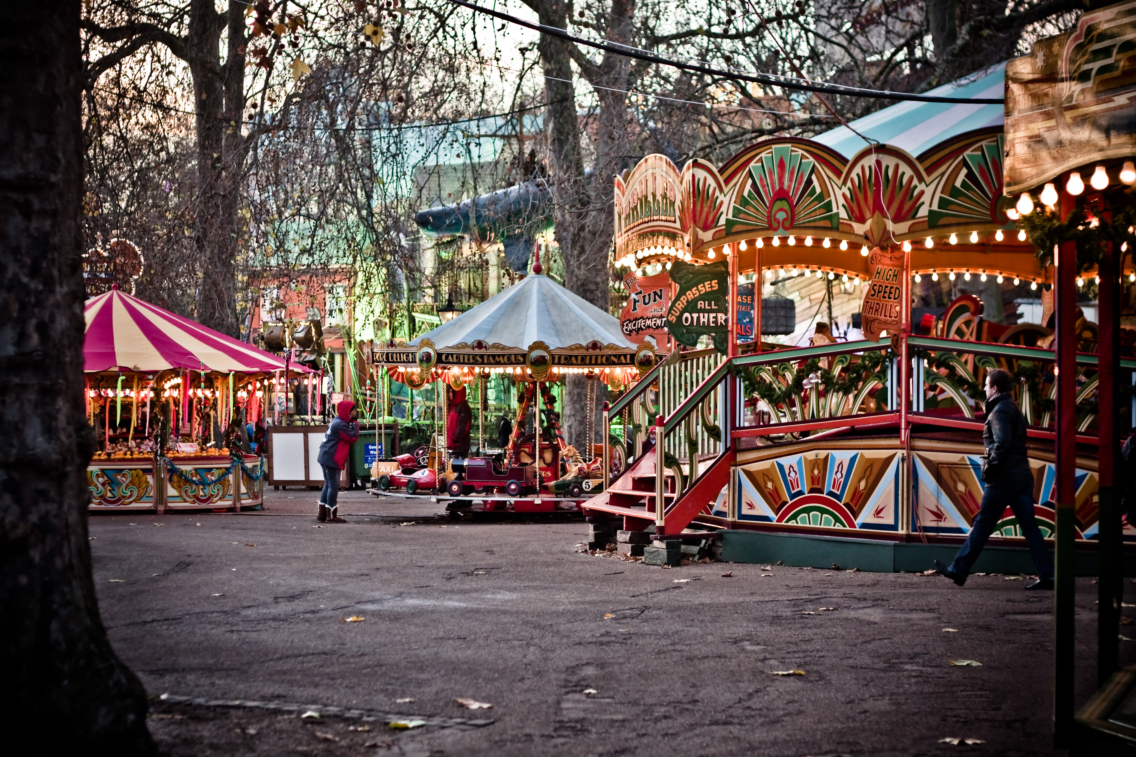 Winter Wonderland in Hyde Park – What to do & Where to store your luggage