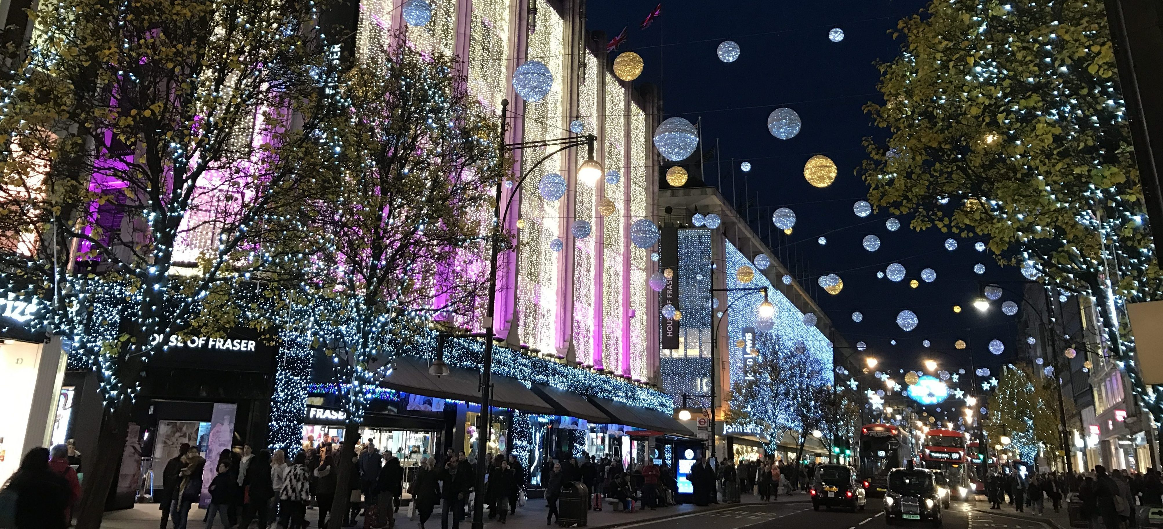The ultimate guide to Christmas shopping in London