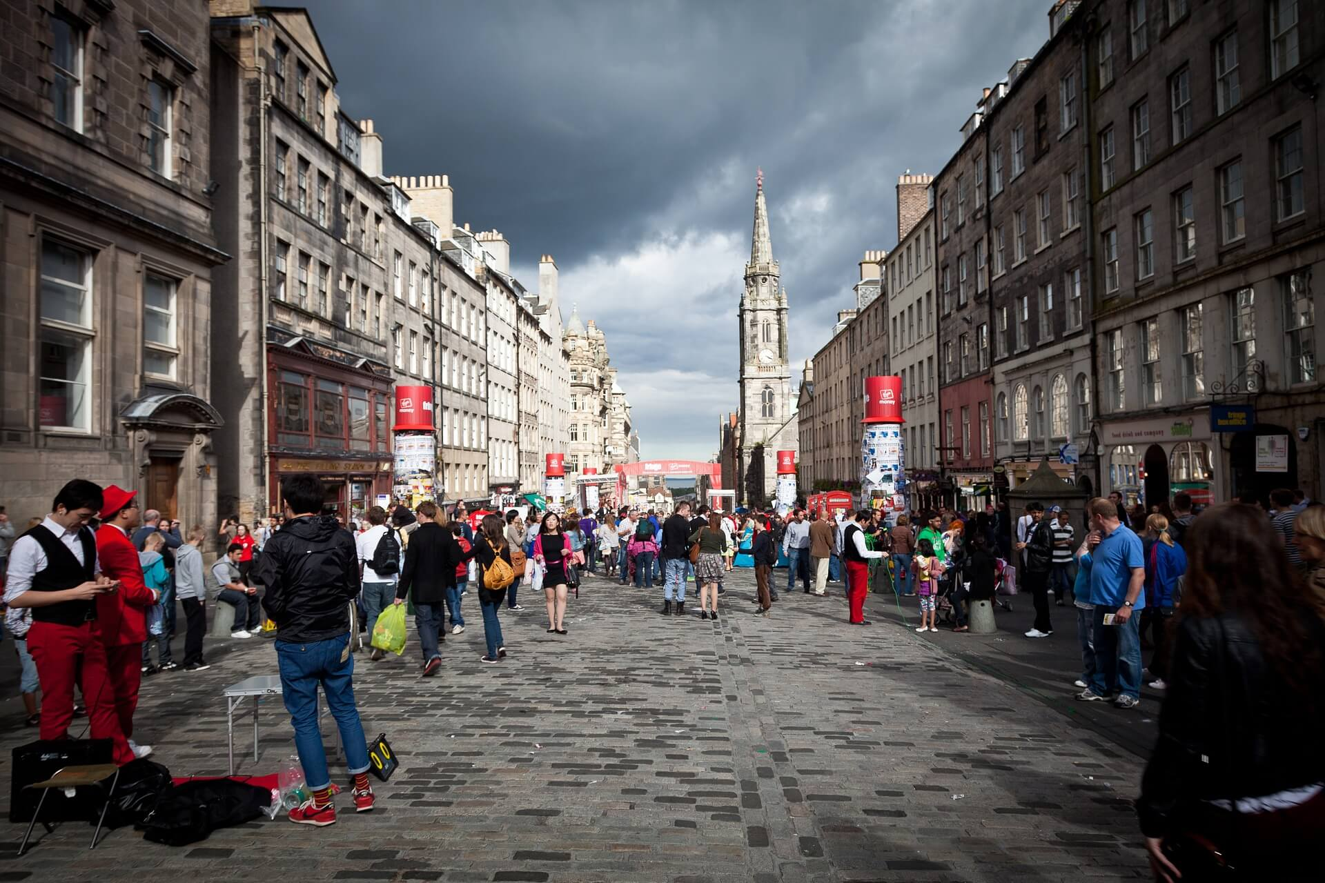 Edinburgh Luggage Storage: Where to Store your Bag During the Fringe