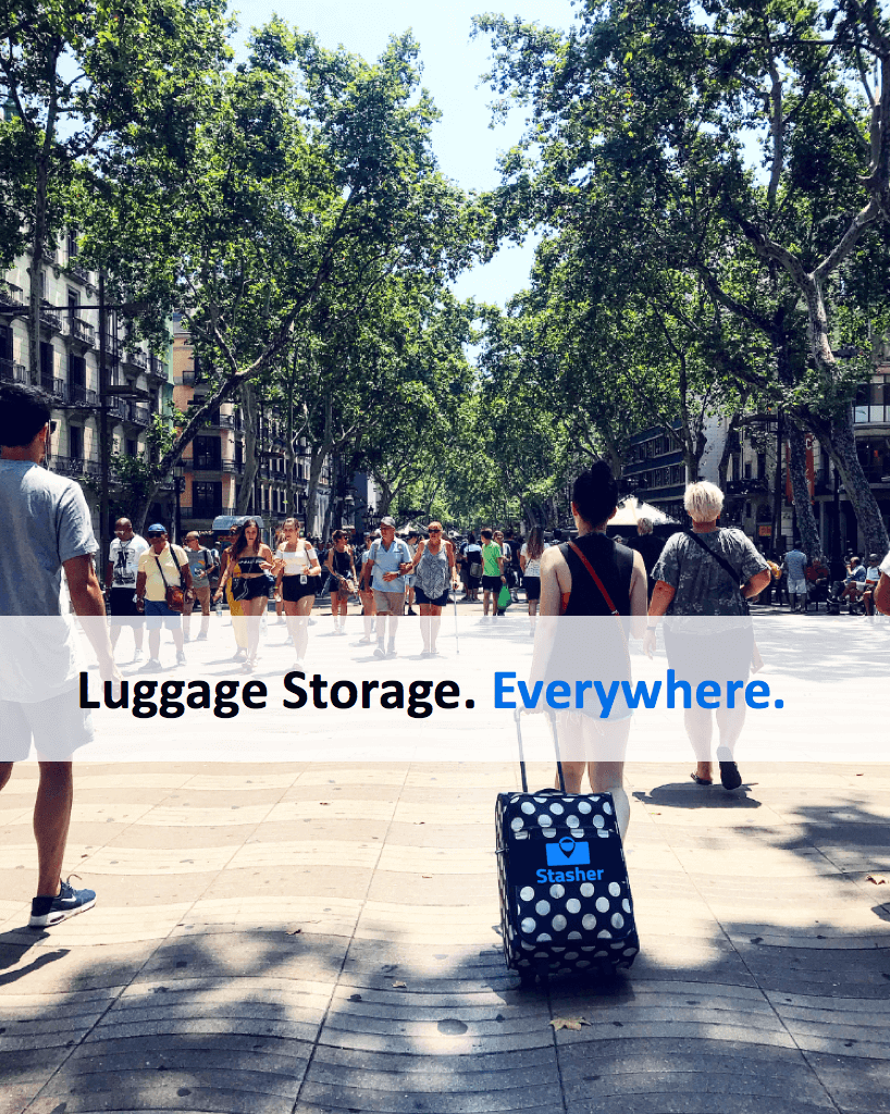 Stasher Luggage Storage has hundreds of locations spread out across London.