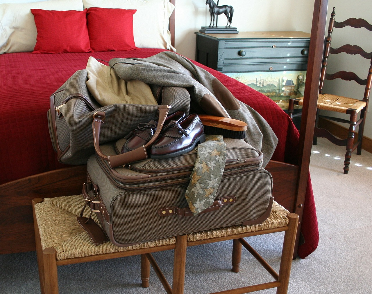 How to Fit a Month's Worth of Stuff Inside a Carry-On Luggage