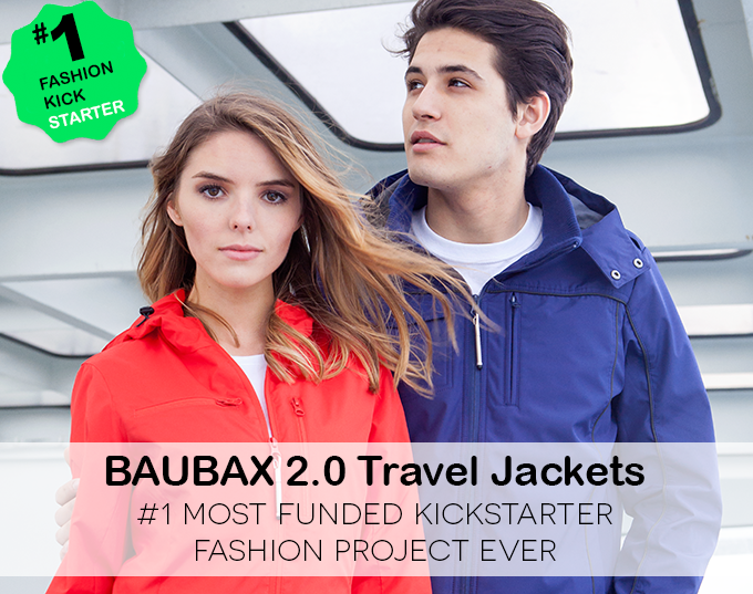 Weekly Product Spotlight: BAUBAX 2.0 – A Jacket for Frequent Travellers