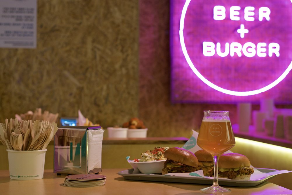 kings cross restaurants - beer and burger