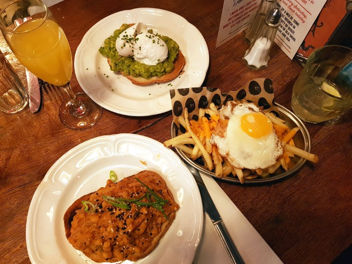 best bottomless brunch in London - Bad Egg